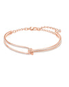 5390818 Lifelong Rose Tone Bangle Jewelry