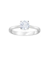 5402428 Attract Ring White Tone Jewelry