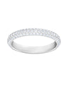 5402437 Stone Ring White Tone Jewelry