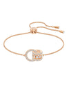 5501092 Swarovski Further Rose Tone Bracelet