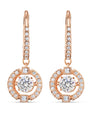 5504753 Swarovski Sparkling Dance Pierced Earrings
