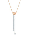5517952 Swarovski Lifelong Heart Y Necklace