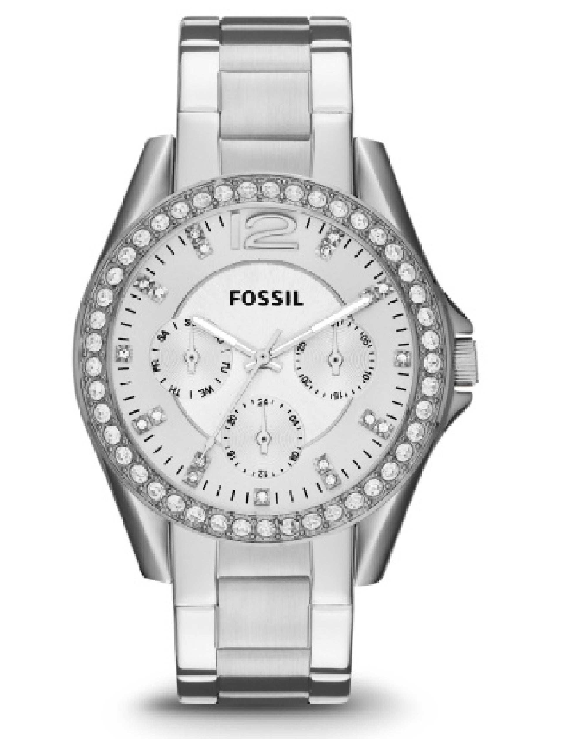 ES3202 Fossil Riley Multifunction Date Stainless Steel Watch