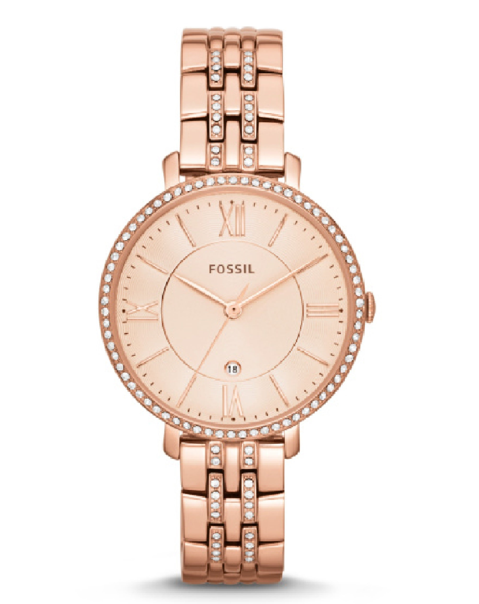 ES3546 Jacqueline Rose -Tone Stainless Steel Watch
