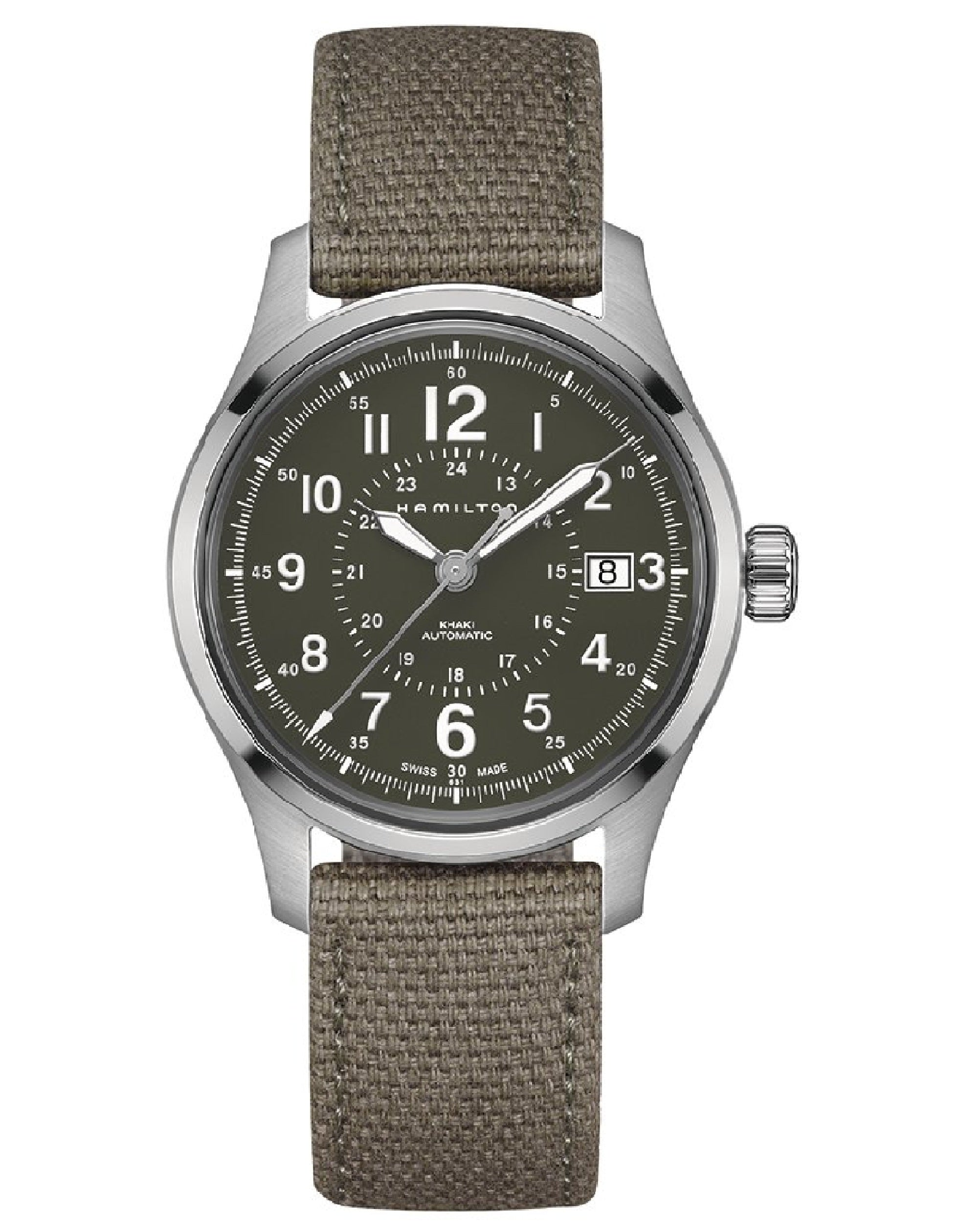 Khaki Field Auto Watch, H70595963