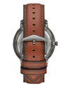 ME3161 Neutra Auto Brown Leather Watch
