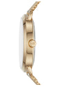 MK3844  Pavé Gold-Tone Watch