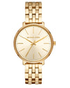 MK3898  Pavé Gold-Tone Watch