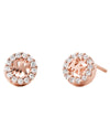 MKC1033AN791 MK Jewelry Stud Earings Rose Tone