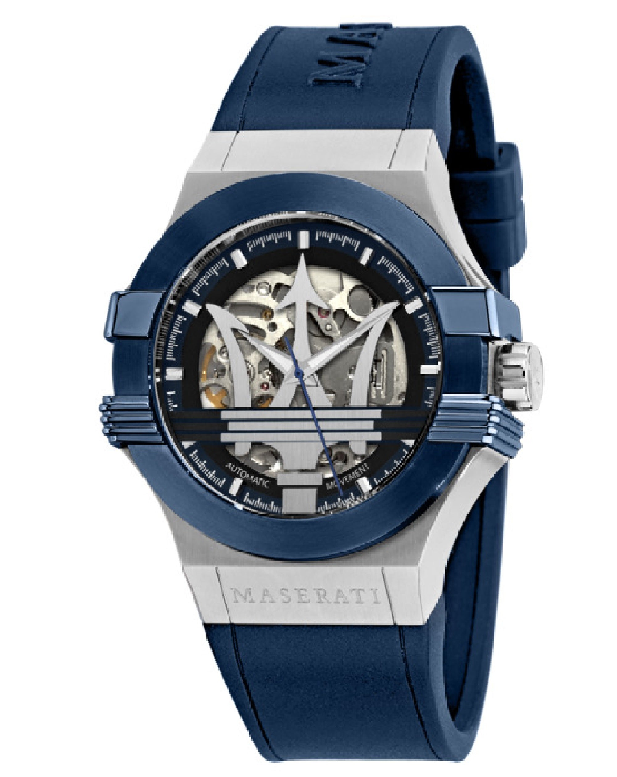 Potenza Automatic Blue Rubber Watch, R8821108028