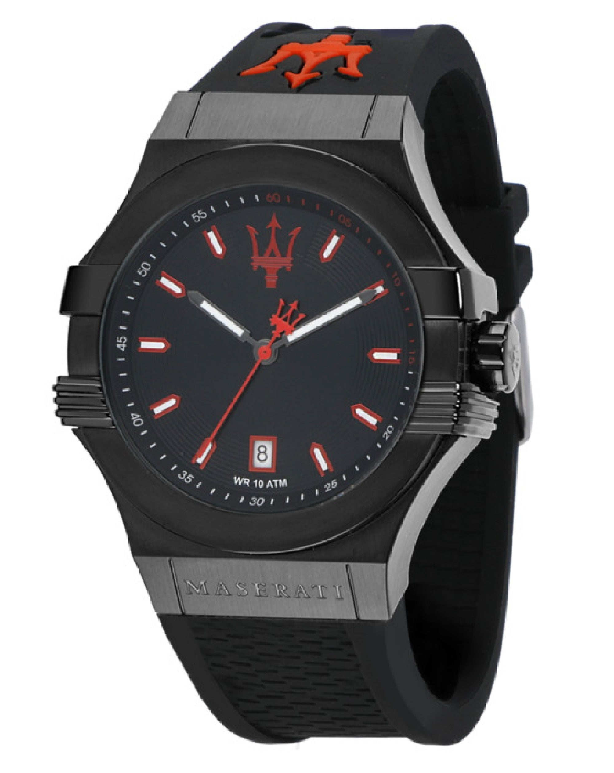 Potenza Black Rubber Watch, R8851108020