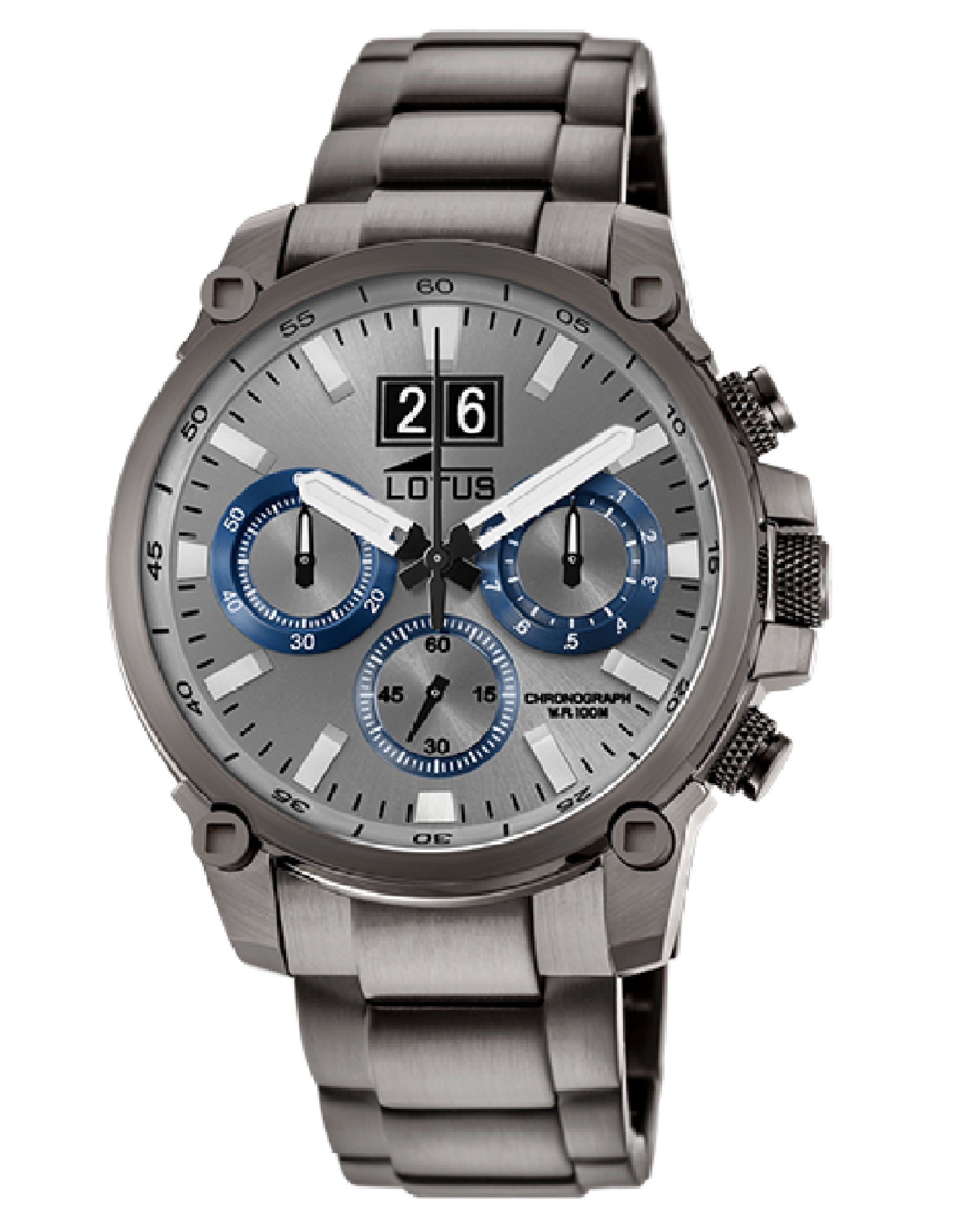 Chronograph L10140/2 Gray Watch Stainless Steel