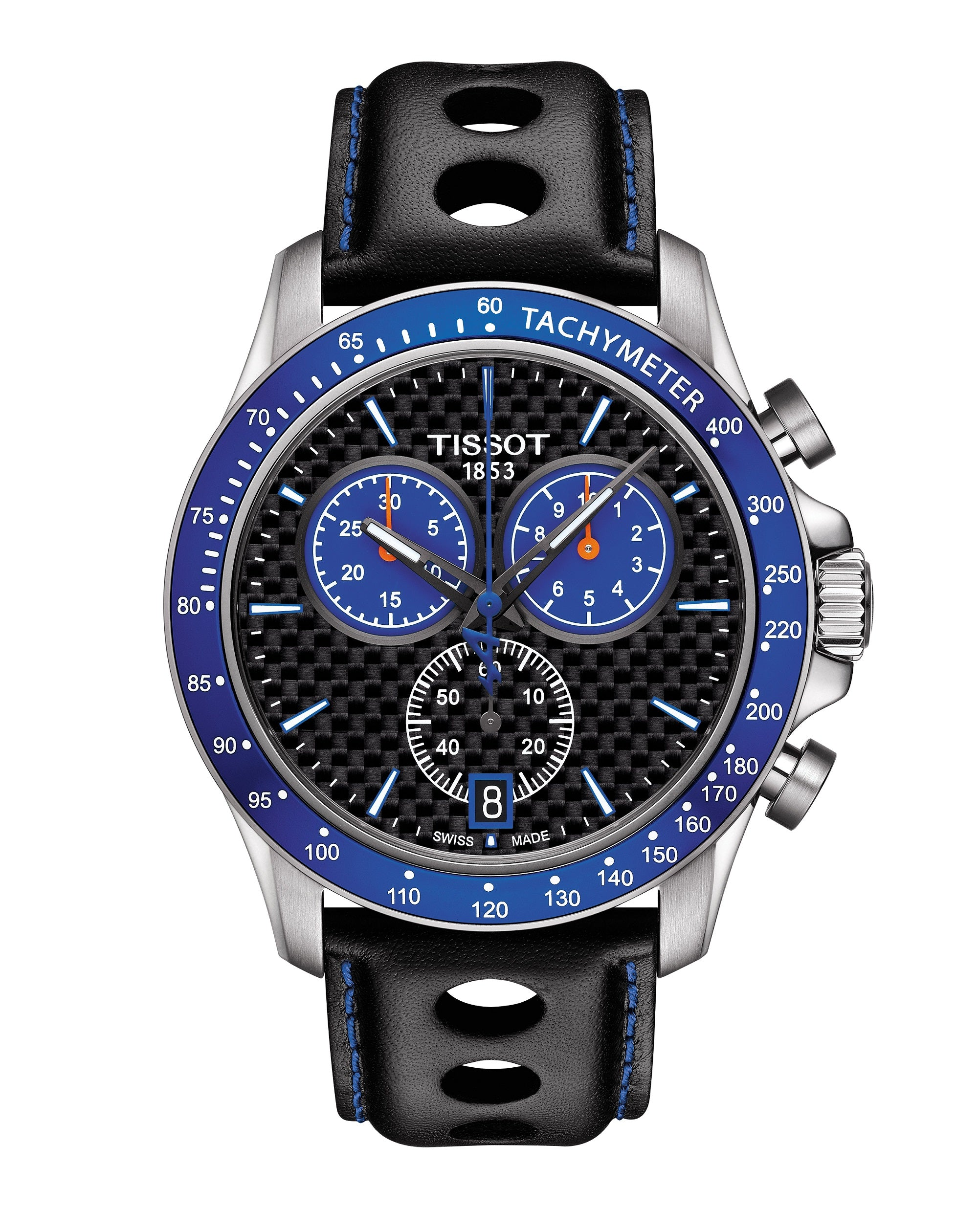 T1064171620101 V8 Chronograph Leather