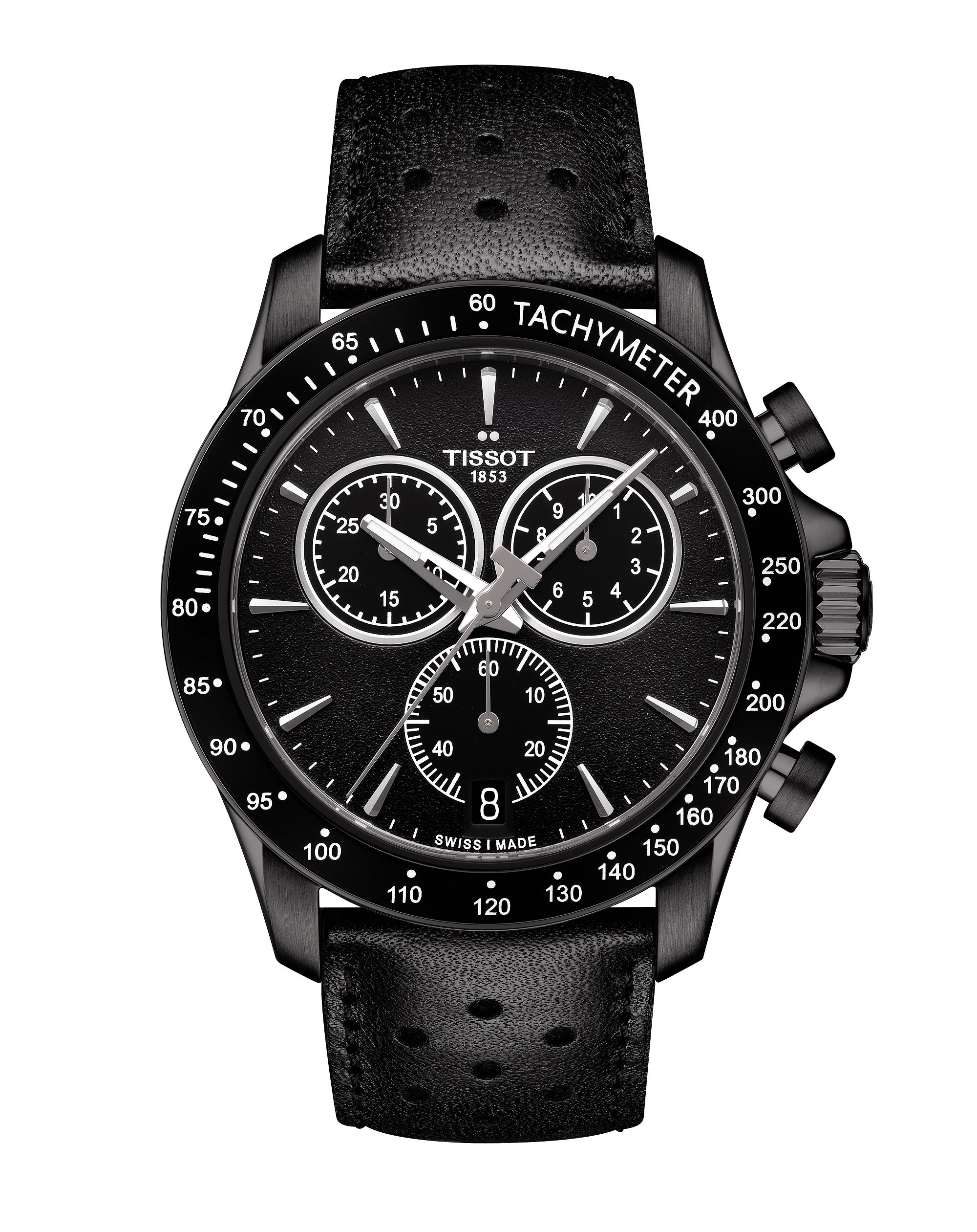 T1064173605100 V8 Chronograph Leather