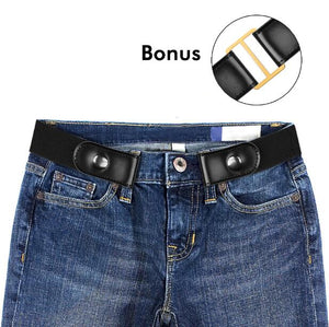 Buckle Free Elastic Belt for Jeans Pants
