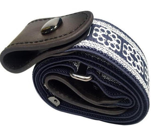 Buckle-Free Elastic Belt for mens