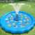 PVC Ferrule Water Spray Pad with Throwing Ring