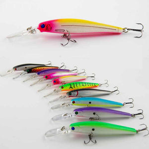 Buy 10pcs Plastic Hard Fishing Lures