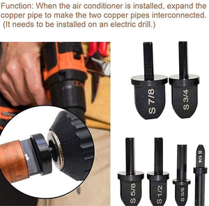 🎉6 Pieces Forging Tool Bit Set Copper Tube Expander (🎁 Special Offer-50% OFF)