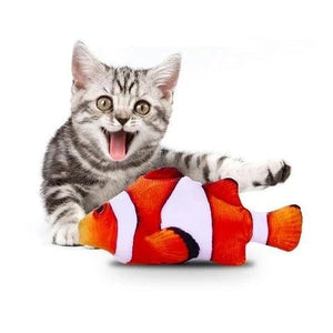 Dancing Fish Cat Kicker Toy