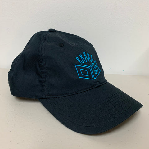 "OG Embroidered Nike Hat ""Black/Blue"" - 300 Entries"