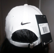 "Load image into Gallery viewer, OG Embroidered Nike Hat ""White/Blue"" - 30 Entries"