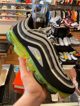 "Load image into Gallery viewer, Size 13 Air Vapormax 97 ""Neon Jungle"" Worn 1x"