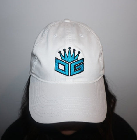 "OG Embroidered Nike Hat ""White/Blue"" - 300 Entries"