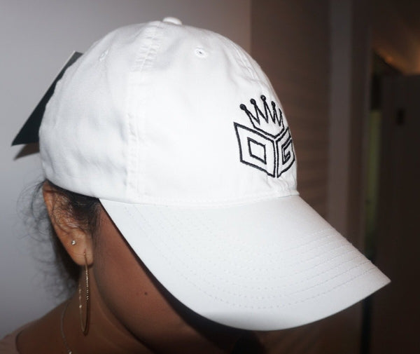 "OG Embroidered Nike Hat ""White/Black"" - 300 Entries"
