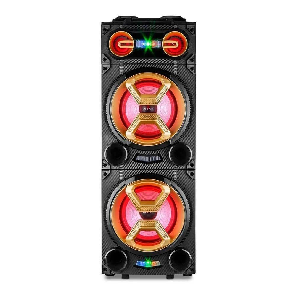 Caixa de Som Multilaser Pulse Torre Party Speaker SP360 - Forcetch