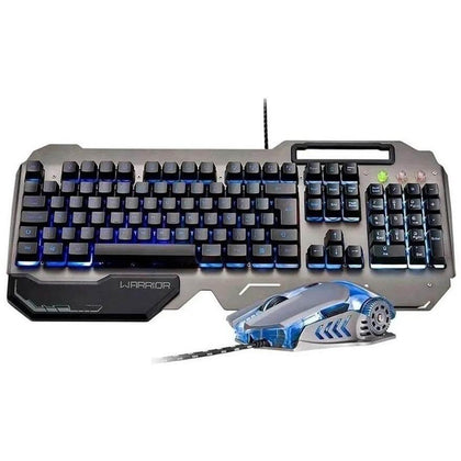 Combo Gamer Warrior LED Teclado + Mouse Ragnar Keon TC223