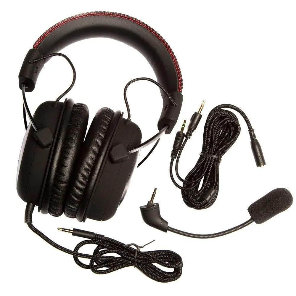 Headset Gamer HyperX Cloud Core para PC PS4 Xbox One KHX-HSCC-BK - Forcetech