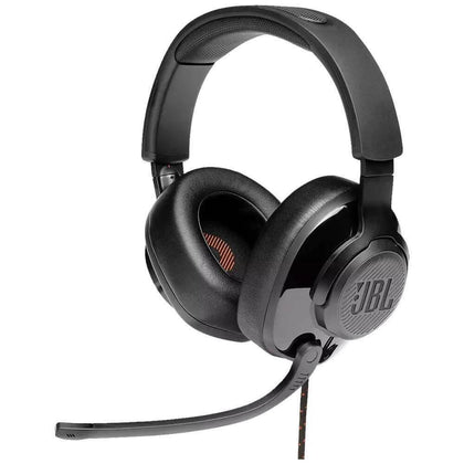 Headset Gamer JBL Quantum 200 Drivers 50mm Preto - Forcetech