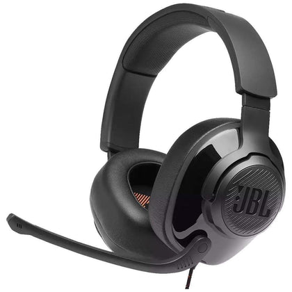 Headset Gamer JBL Quantum 300 Drivers 50mm Preto - Forcetech