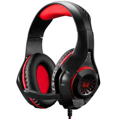 Headset Gamer Warrior Rama P3 e USB Multilaser LED PH219 - Forcetech