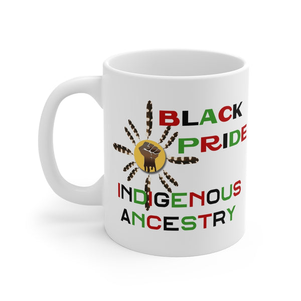 Black Indigenous Pride Mug, 11oz