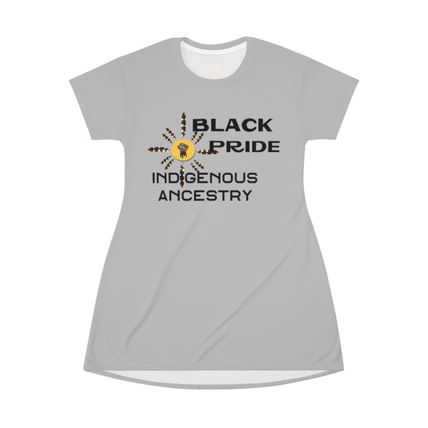 Black Indigenous Pride Long T-Shirt