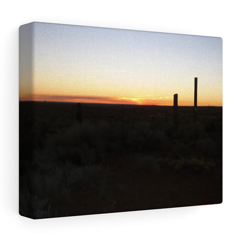 Art ~ Arizona Sunset on Stretched Canvas