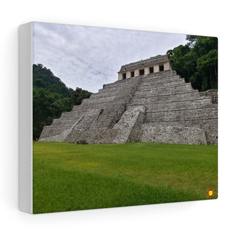 Art ~ Mayan Pyramid on Stretched Canvas