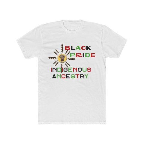 Black Indigenous Pride Men's Cotton Crew Tee
