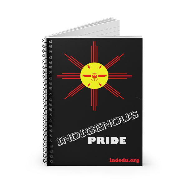 Indigenous Pride Spiral Notebook, Wide Ruled