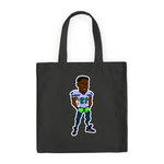 BLACK SIGNATURE UGO CARTOON TOTE BAG