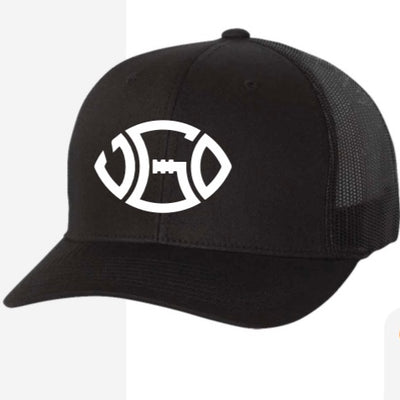 BLACK SIGNATURE  TRUCKER HAT