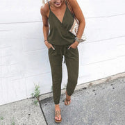 Casual Sleeveless Jumpsuit