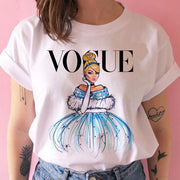 Vogue Princess T-Shirt Print Female