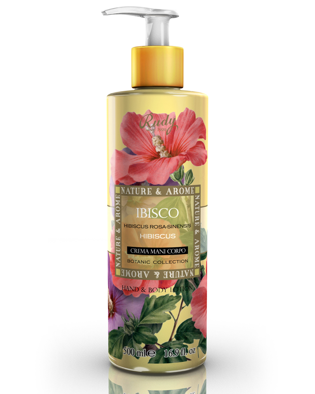 RUDY 木槿花身體潤膚露   RUDY HIBISCUS BODY LOTION  500ML