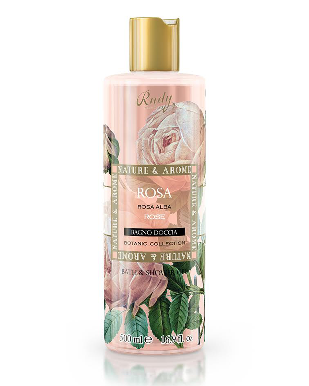 RUDY 玫瑰花沐浴露   RUDY ROSE BATH & SHOWER GEL  500ML