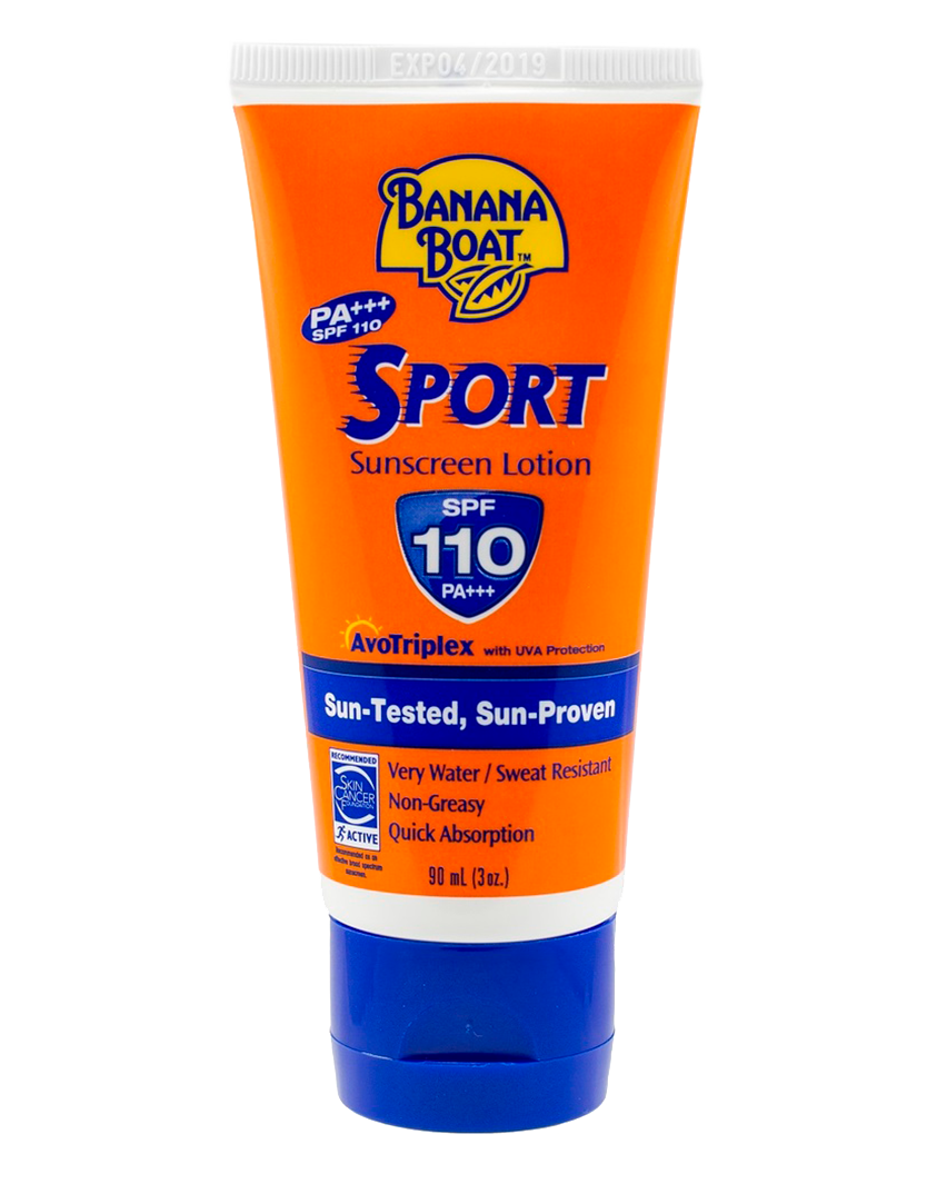 BANANA BOAT 香蕉船運動型防曬乳SPF110  BANANA BOAT SPORT SUNSCREEN LOTION SPF110 90ML