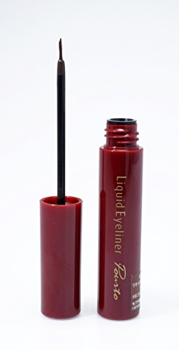 POURTO A LIQUID EYELINER 500 (BLACK) 7.5G  POURTO A 深黑持久眼線液 500 7.5G