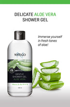 Load image into Gallery viewer, NATIGO 蘆薈溫和沐浴露   NATIGO GENTLE SHOWER GEL ALOE VERA  500ML